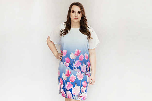 e09d0c1b0f Sukienki dla puszystych. Sklep internetowy z sukienkami Plus Size.