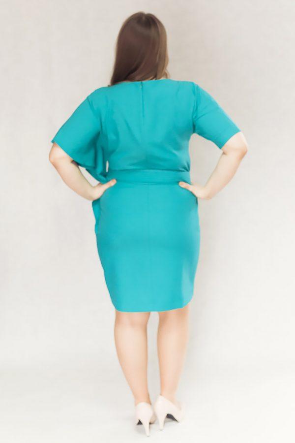 sukienki midi plus size