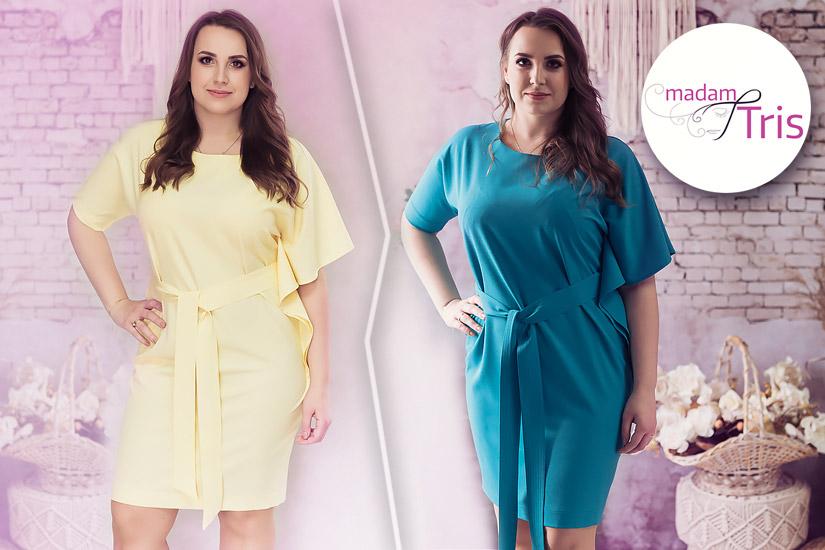 Sukienki na wesele 2019 – Nowości w modzie Plus Size