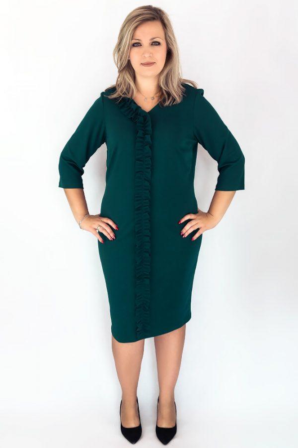 sukienka bueltkowa zielen