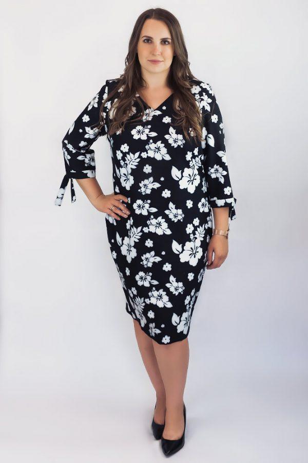 klasyczna sukienka czarna