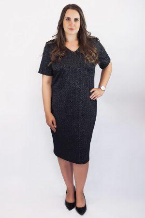 elegancka sukienka plus size midi