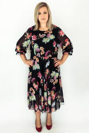 sukienka adel dluga szyfonowa
