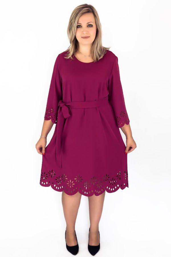 sukienki trapezowe xxl duze rozmiary